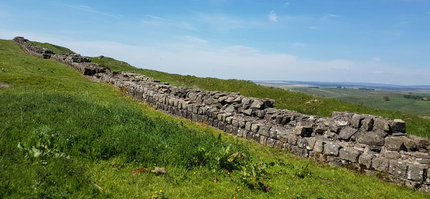 Image: walk to Hadrian's wall near Greenhead.