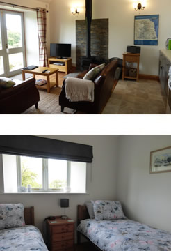 Image: interior shots of Stanegate holiday cottage, Greenhead, Northumberland.