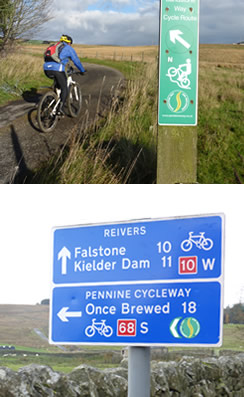 Image: things to see on a self-catering cycle holiday near Greenhead in Northumberland.